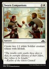 4x Sworn Companions * Guilds of Ravnica * Common * PLAYSET