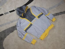 Vintage Adidas Colorado top hoody hooded jacket L XL multi coloured + chest logo