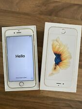 Apple iPhone 6s 128GB Smartphone (Unlocked)  - A1633 - Gold - cracked screen