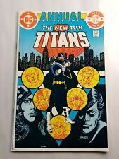 New listing New Teen Titans Annual 2 1st Appearance of Vigilante 1983 Nice