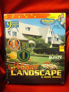 Punch Software Master Landscape & Home Design / 2001