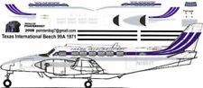 Texas International Beechcraft Beech-99 decals for 1/144 kits