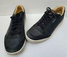 Ashworth Cardiff Spikeless Golf Shoes Men's 8.5 (G54170) Black & White
