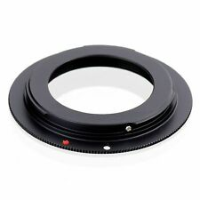 M42 Lens to Canon EOS EF 550D 500D 60D 50D 7D Adapter with plate