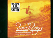 THE BEACH BOYS - THE PLATINUM COLLECTION THE BEST OF BOX 3 CD NUOVO SIGILLATO