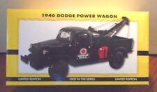 NEW TEXACO DODGE #1 BLACK POWER WAGON TOW TRUCK WRECKER MINT IN A MINT BOX