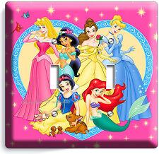 Disney Princess Kids Double Light Switch Cover Plate Snow White Girls Room Decor