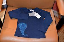 tee shirt neuf repetto 4 ans bleu marine ballerine en bas