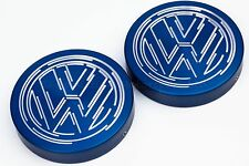 Vw Golf Mk4 Gti, TDI, R32 suspensión Strut PAC abarca anodizado En Color Azul