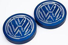 Vw Golf Mk4 GTI, TDI, R32 Suspension Strut Cap Covers Anodised in Blue