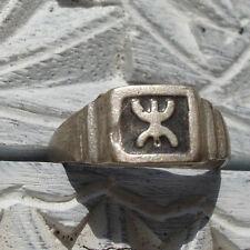 Plata (probados) empañada hombre libre Zeed amazigh Alfabeto ANILLO ukn