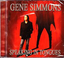 GENE SIMMONS speaking in tongues CD NEU OVP