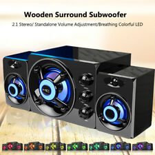 Sada Usb Wired Computer Speakers Bass Stereo Music Subwoofer for Pc Laptop N2G1