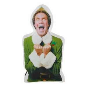 Buddy The Elf Airblown Inflatable 2.8' Car Buddy Christmas LED Adapter Lights Up