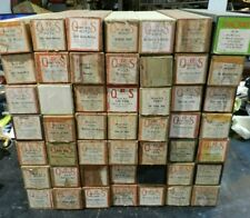 Lot of 50 Vintage QRS Q.R.S. LONG PLAY PIANO WORD ROLLS Player Navy Air Corps ++