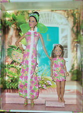 Lilly Pulitzer Barbie Giftset - Silver Label, NEW, NRFB