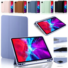 """For iPad Pro 11"""" 12.9"""" 2020/2018 Magnetic Tri-fold PU Leather Smart Case Cover"""