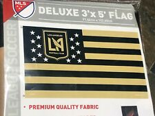 1 LAFC Los Angeles Football Club - 3' x 5' DELUXE FLAG - Quality - MLS Licensed
