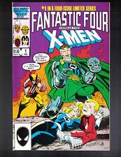 Fantastic Four Vs. X-Men #1-4 Complete 1987 Marvel Comics Miniseries VF-VF/NM