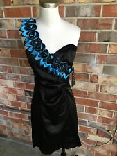 Jump Girl Juniors Black Dress Size 5/6 Black Homecoming Prom Banquet Party