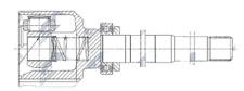 Joint Set Inside Right Peugeot 308 II 1.2THP 110KM 13- MTM5, BE4R/MB6 New