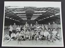 Bobby Orr Mike Walton Sports Camp 1974 Group Ice Hockey Photo~Marcel Dionne~Rare