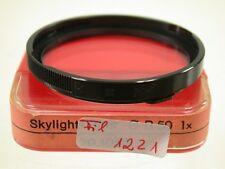 Orig. Voigtländer Icarex Zeiss Ikon Sky Skylight Filter Lens Foto Bajonett B (7)