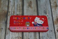 vintage 1976 sanrio hello kitty metal pencil case?