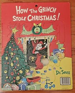 How The Grinch Stole Christmas 15 Piece Frame Tray Puzzle – Vintage 1985