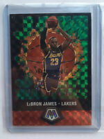 2019-20 Panini Mosaic LeBron James Jam Masters Green PRIZM #16 SSP LA LAKERS!