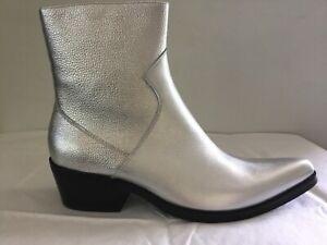 Calvin Klein Silver Shoes for Men for