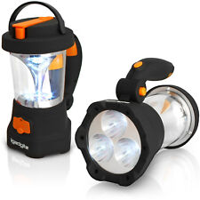 4 en 1 wind up Dynamo Rechargeable 3 LED Spotlight Lampe 10 led lanterne de camping