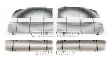 Fit 2004-2005 Dodge Ram SRT 10 Replacement Style Billet Grill Insert Combo