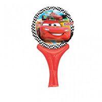 Disney CARS Inflate-a-Fun Foil Air MINI BALLOON Birthday Party Decoration
