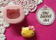 Hello Kitty Hamburger Silicone Mold Food Cake Decoration Candy Cupcake (FDA)