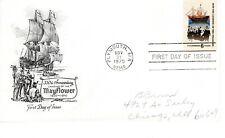1970 COMMEMORATIVE LANDING OF PILGRIMS ARTMASTER CACHET PENCIL ADDRESSED FDC