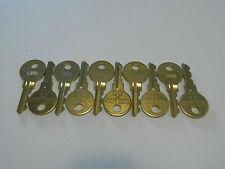 10 mal Originalschlüssel L550 für Löwen-Matrixtür