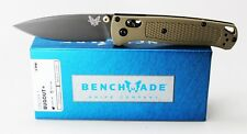 Benchmade Bugout Pocket Knife Green/Tan Handle Gray Coated S30V Blade 535GRY-1