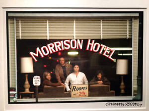 Original Henry DILTZ Photograph of DOORS at MORRISON HOTEL