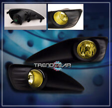 2009-2013 TOYOTA MATRIX JDM BUMPER DRIVING YELLOW FOG LIGHTS LAMP+SWITCH+HARNESS