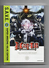 D.GRAY-MAN Complete First Season - DVD Anime Region 1