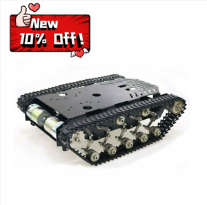 TS900 All Metal Tank Chassis Tracked Chassis Smart Robot Car DIY  Chassis 5-10KG