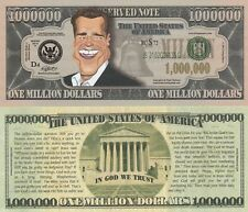 Arnold Swartzenegger Caricature Million Dollar Tract Fun Money Novelty Note SLEV