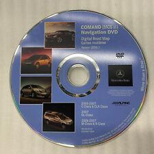 05-07 MERCEDES ML CLK CLASS DVD NAV GPS NAVIGATION DISC CD BQ6460220 A1698273559