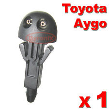 TOYOTA AYGO FRONT WINDSCREEN WASHER JET NOZZLE WATER