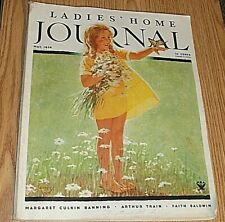 Ladies Home Journal May 1934 VOL L1 NO. 5 M. Banning; A. TRAIN, F Baldwin VINTA