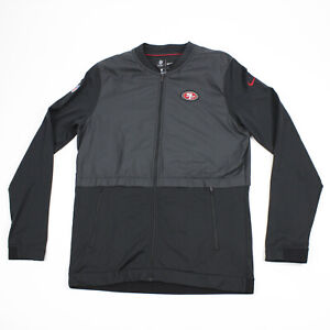 San Francisco 49ers Nike Jacket Men's Dark Gray Used