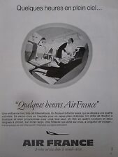 1969-1970 PUB AIR FRANCE AIRLINE BOEING AIRLINER HOTESSE AIR PASSAGER FRENCH AD