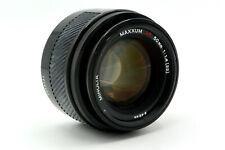 Minolta 50mm f/1.4 Auto Focus A-Mount FX SLR DSLR AF Prime Lens