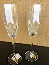 Waterford Crystal True Love Champagne Flutes Pair 40003417 NEW